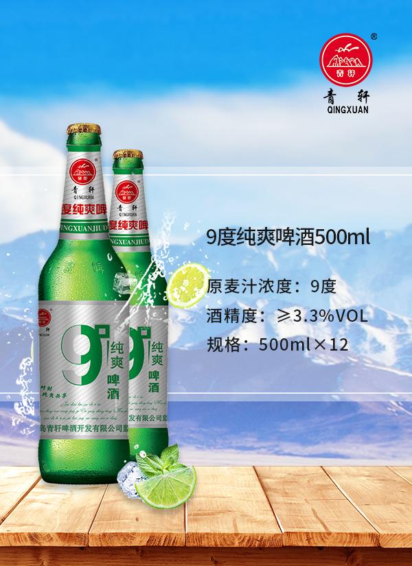 青轩系列大瓶啤酒 产品展示 公司全品展示 青岛青轩诚